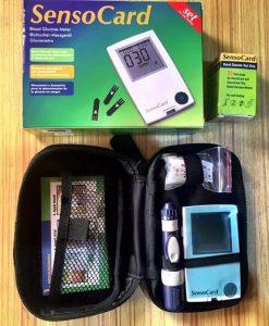 Senso Card Self Glucose Test Meter