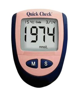 Quick Check Diabetes Glucometer