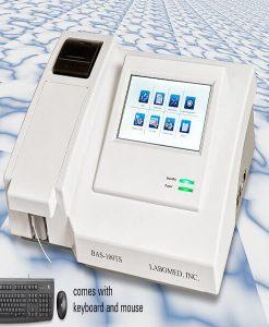 bas-100 semi auto biochemistry analyzer