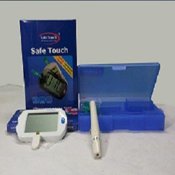 Safe Touch Blood Glucose Meter
