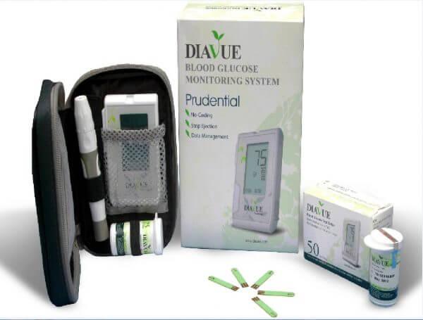 DIAVUE Prudential Glucose Monitor