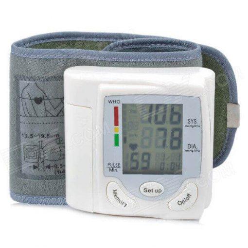 Wrist Style Blood Pressure Monitor