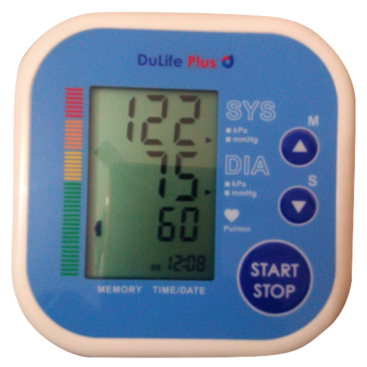 Digital-blood-pressure-machine Dulife Plus 2