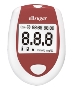 eBsugar Blood Glucose Test Monitor