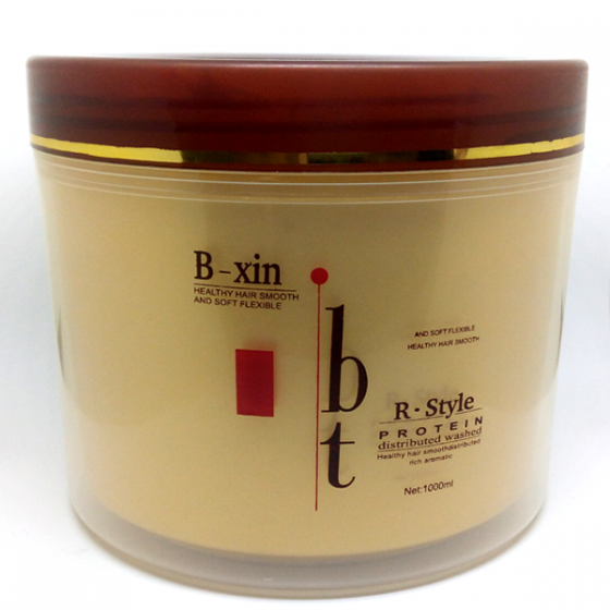 B – Xin  R-style  Protein Distributed washed for Healthy Hair