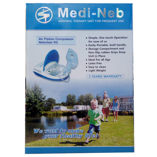 Medi Nab Air Piston Compressor Nebulizer kit