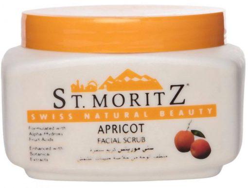 St. Moritz Apricot Facial Scrub 1
