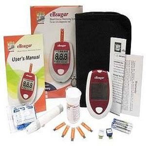 Ebsugar Blood Glucose Test Monitor Medistore