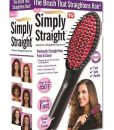 Simply Straight Ceramic Brush Hair Straightener Medistore BD 3