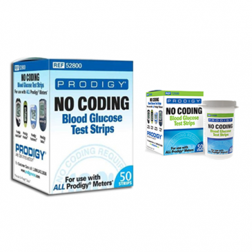 prodigy autocode glucometer strips