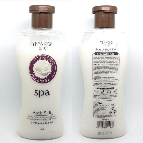 YESNOW BATH SALT SPA