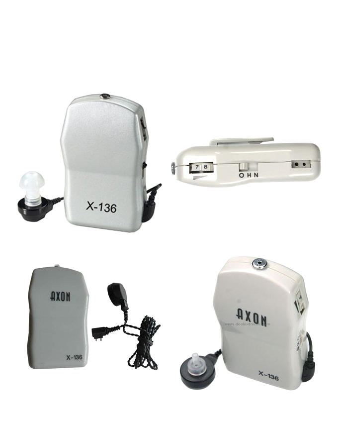 AXON X-136 Pocket Hearing Aid