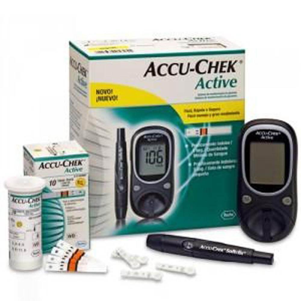 Accu-Chek Active blood glucose meter