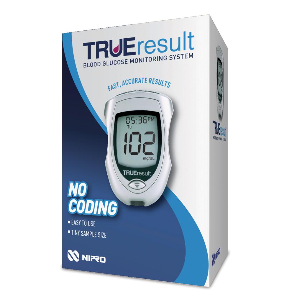 Nipro TRUE Result Glucose Test Meter