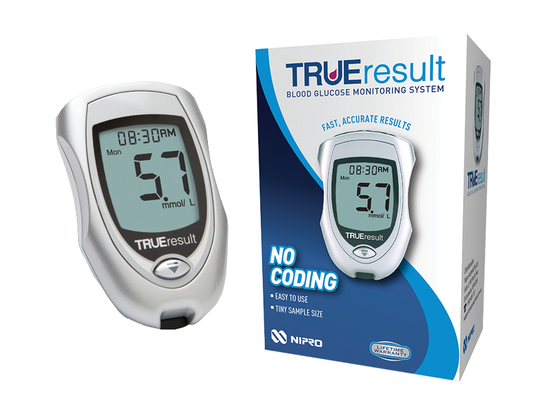 Nipro Diagnostics True Result Glucometer Medistore