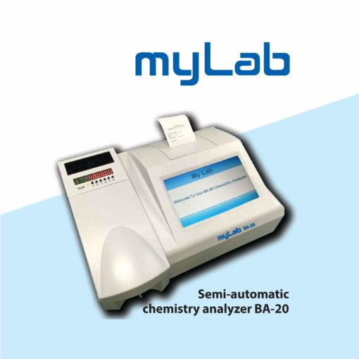 mylab ba-20 semi automatic biochemistry analyzer