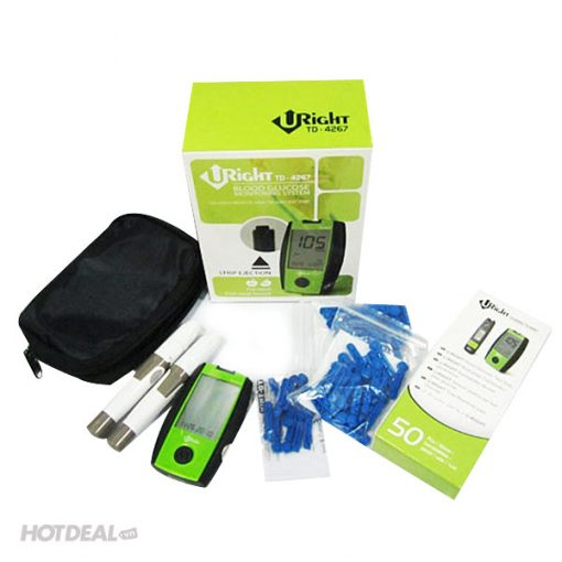 uright blood glucose monitoring system td-4267