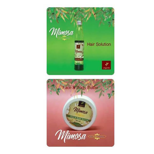 Mimosa Hair Solution