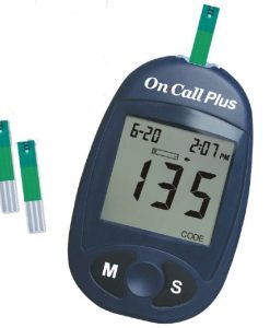 On Call Plus Blood Glucose Monitoring System