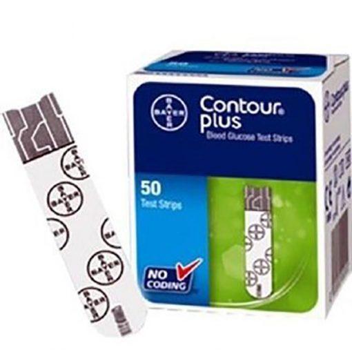 Contour Plus GLUCOSE Test Strips-50 pcs