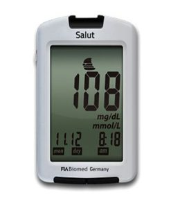 FIA Biomed Salut Blood Glucose Meter