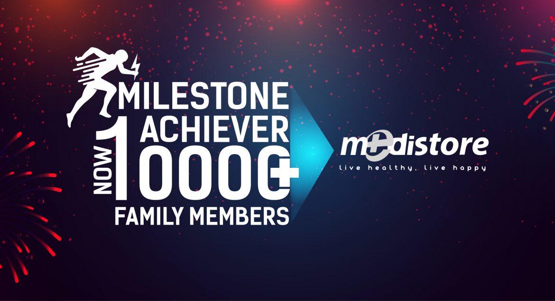 Medistore Milestone