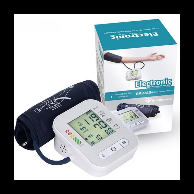Digital Electronic Blood Pressure Monitor White