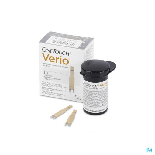 OneTouch Verio Blood Glucose Test Strips - 50 strips