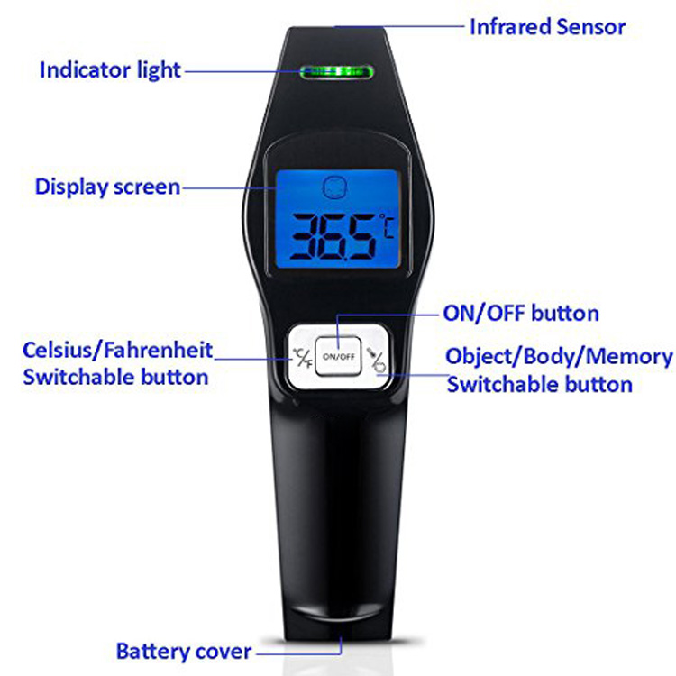 SCIAN Non Contact forehead Infrared Thermometer