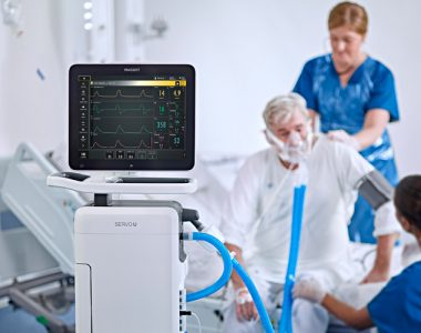 Ventilator for icu