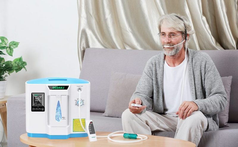 DEDAKJ DDT-1A Portable Oxygen Concentrator for Home Oxygen