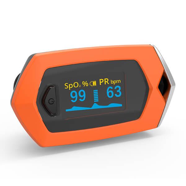 Osport Rechargeable OLED Fingertip Pulse Oximeter