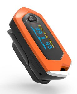 Osport Rechargeable OLED Fingertip Pulse Oximeter